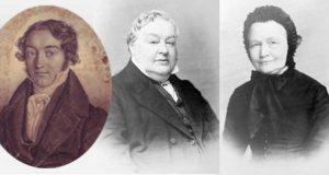 Vater, Mutter und Onkel von Blumhardt